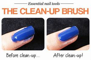 Nail blogger secrets for pretty nails 3 Clean-up is your sneaky BFF - Lab Muffin Beauty Science
