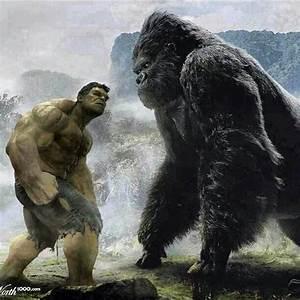 Hulk vs. King kong   HULKNESS   Pinterest