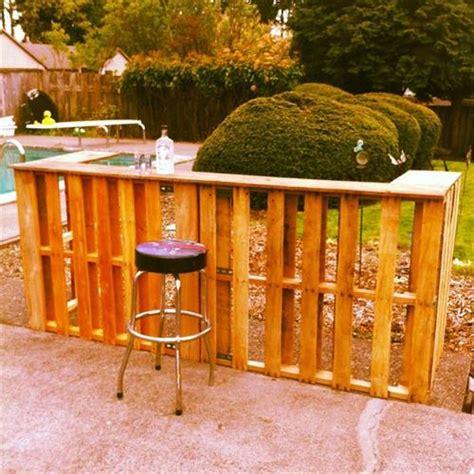 Home Design Ideas Build by 7 Creative Diy Outdoor Pallet Bar Ideas Pallets Designs