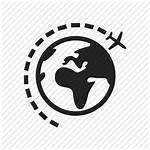 Icon Travel Globe Iconfinder