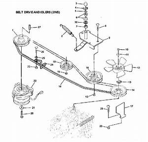 31 John Deere Lt180 Drive Belt Diagram
