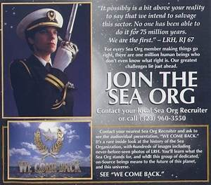 If the Sea Org doesn't legally exist, how does it run ...