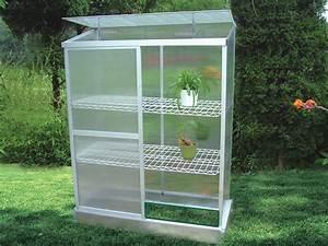 Serre En Polycarbonate Ou En Verre : mini serre de jardin ou balcon polycarbonate capucine 0 ~ Premium-room.com Idées de Décoration