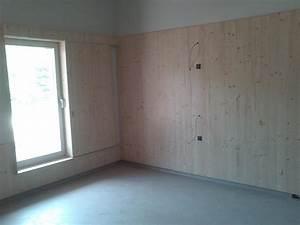 Mur Interieur Bois : habillage bois interieur maison photo interieur maison ~ Zukunftsfamilie.com Idées de Décoration