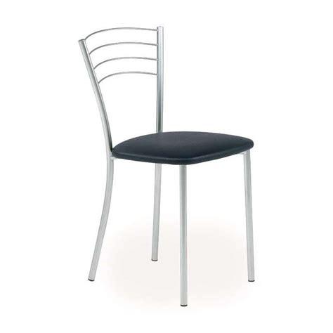 chaises cuisine chaise de cuisine contemporaine en métal roma 4 pieds tables chaises et tabourets
