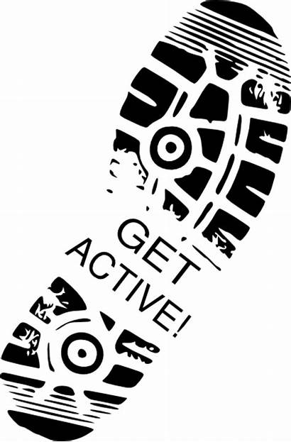 Active Clip Shoe Clipart Vector Domain Google
