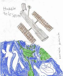 Original Drawing Hubble Telescope (page 2) - Pics about space