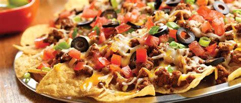 nachos recipes festive taco nachos recipe cbell s kitchen