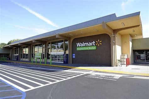 Store Front Of The Walmart Neighborhood Market In Panorama