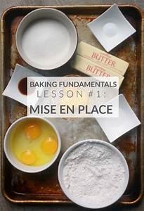 mise en place for baking baking science baking school
