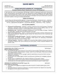 hr generalist entry level resume what your resume should look like