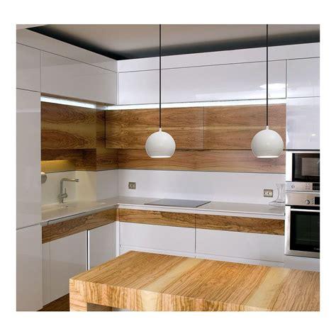 suspension luminaire cuisine suspension ronde blanche led pour bar ou cuisine