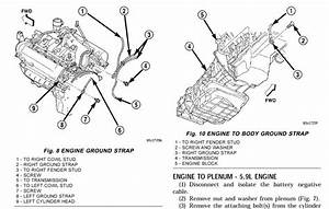 03 Durango 4 7l Engine Ground Locations