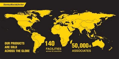 Did You Know That Stanley Black & Decker Is A Truly Global