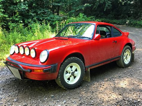 "The Porsche ""safari"" 911 Is Filthy Fun  The Drive"