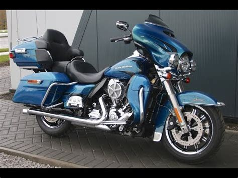 Harley Davidson Ultra Limited Picture by 2014 Harley Davidson Ultra Limited Daytona Blue Centre