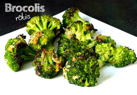 cuisiner brocolis frais brocolis rôtis à l ail et au parmesan cookismo