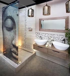 amenagement petite salle de bain en 20 idees gain de place With idee rangement petite salle de bain