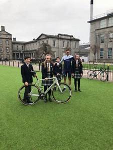 Local school children receive world class cycling advice ...