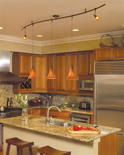 kitchen track lighting ideas modern design track