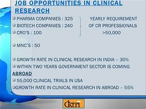 clinical research pharmacy With clinical research career