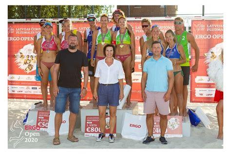 Par 2020. gada Latvijas čempioniem pludmales volejbolā ...