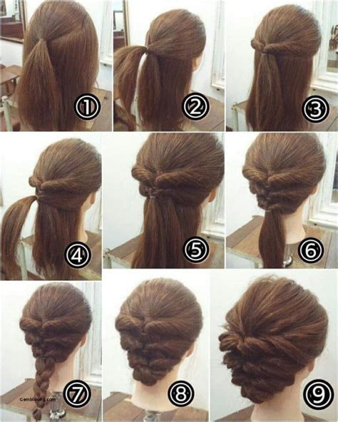 easy step by step hairstyles for kids easy hairstyles for short hair step by step step by step