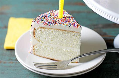 easy birthday cake recipes vanilla bean birthday cake the kitchenthusiast