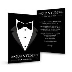 einladungen hochzeit selbst gestalten geburtstagseinladung im 007 bond stil mit