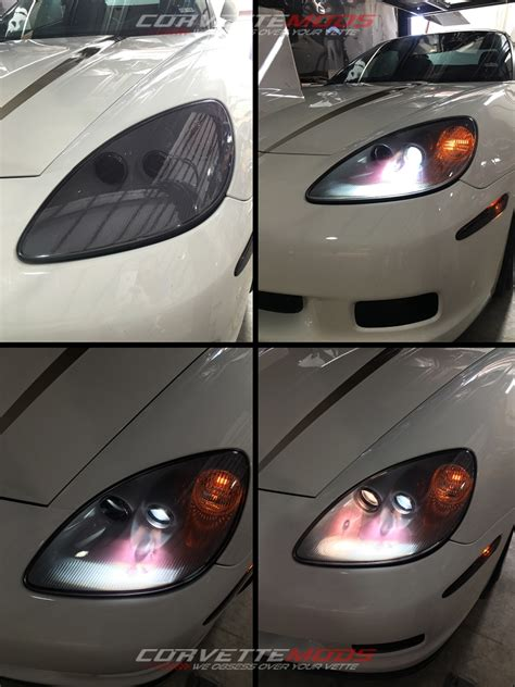 corvette   basegszrz lamin  headlight