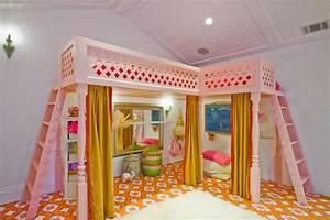 Lit Fille Original : le lit sur lev designs amusants ~ Teatrodelosmanantiales.com Idées de Décoration