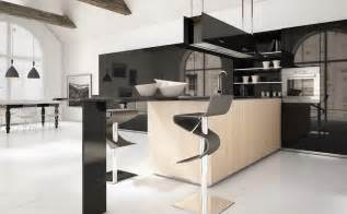 kitchen island with table attached classic modern kitchens home design