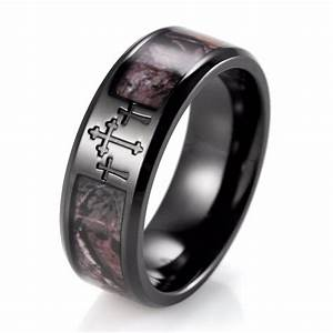 15 Collection Of Mens Wedding Bands With Cross