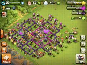 Clash of Clans Base Town Hall Level 7