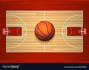 Basketball Ball Court