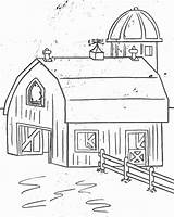 Coloring Farm Pages Crafts Farmer Animals Activities Diy sketch template