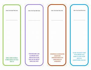 printable bookmark templates which are unique and colorful With bookmarks templates for publisher