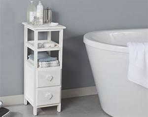 Petit Meuble Pour Wc : petit meuble d 39 appoint becquet ~ Teatrodelosmanantiales.com Idées de Décoration