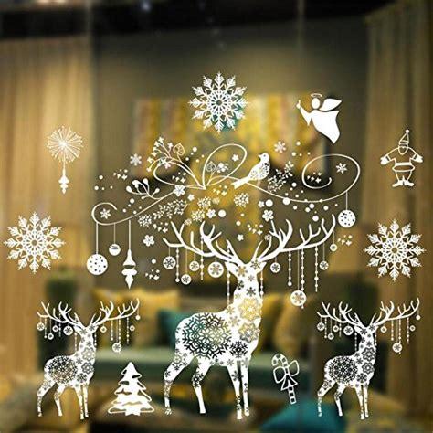 Weihnachtsdeko Fenstersticker by Weihnachten Fensterbilder Weihnachtssticker Skitic