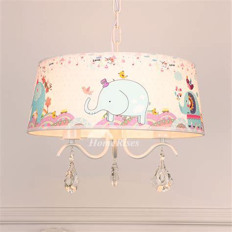 chandelier  nursery elephant  light drum kids room