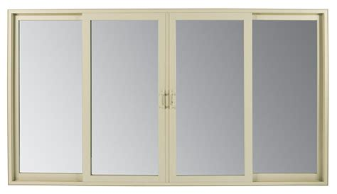 4 panel sliding patio doors