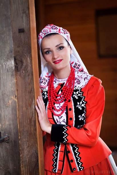 Polish Costumes Costume Folk Models Outfits Poland