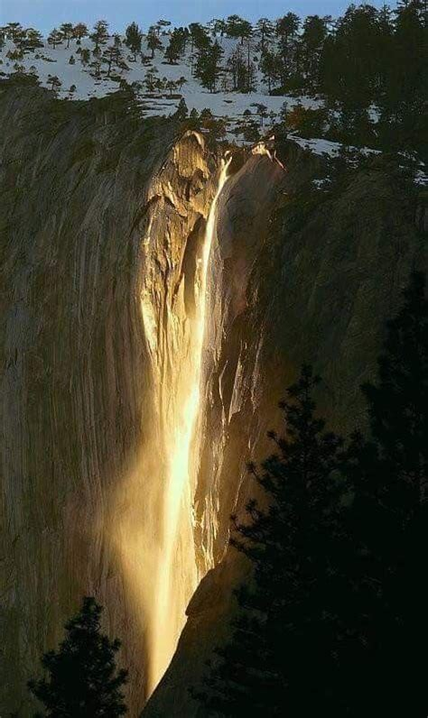 Shoe Falls Yosemite National Park Few Jehovah