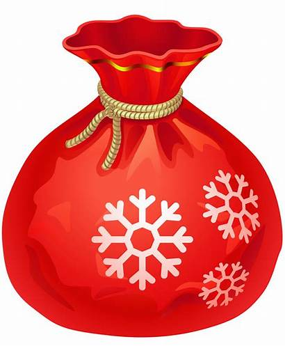 Santa Bag Clipart Transparent Clip Gift Claus