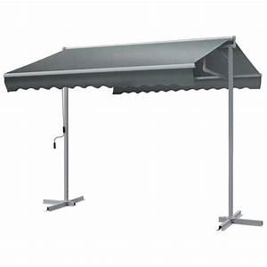 Store Double Pente Professionnel : parasol autoportant 2 pentes avec couverture coulissante ~ Melissatoandfro.com Idées de Décoration