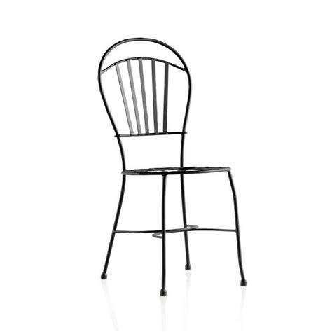 Chaise De Jardin En Fer Forgé  Ibiza  4 Pieds Tables