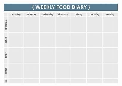 Diary Weekly Printable Journal Log Template Simple