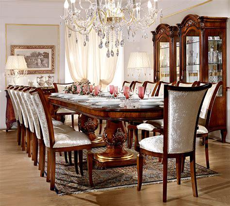 sale da pranzo classiche sala barnini oseo prestige arredamenti franco marcone