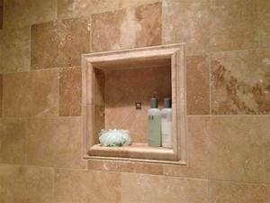 Simple And Useful Shower Niche Insert — Home Ideas Collection