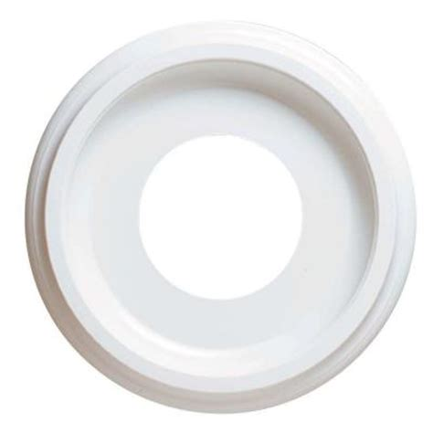 two ceiling medallions home depot westinghouse 10 in smooth white finish ceiling medallion